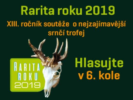 Rarita roku 2019 – VI. kolo – Můžete hlasovat!