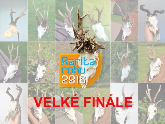 Velké finále soutěže Rarita roku 2018