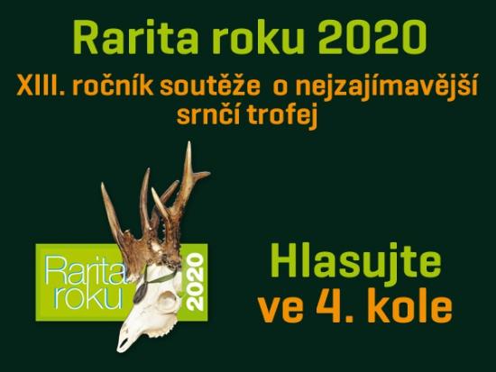 Rarita roku 2020 – IV. kolo – Můžete hlasovat!