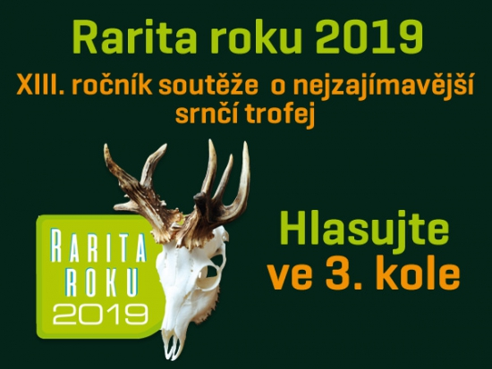 Rarita roku 2019 – III. kolo – Můžete hlasovat!