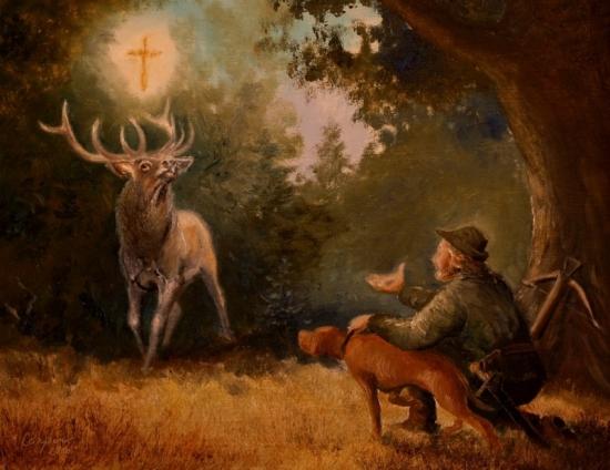 Připomínáme si svatého Huberta, patrona myslivců