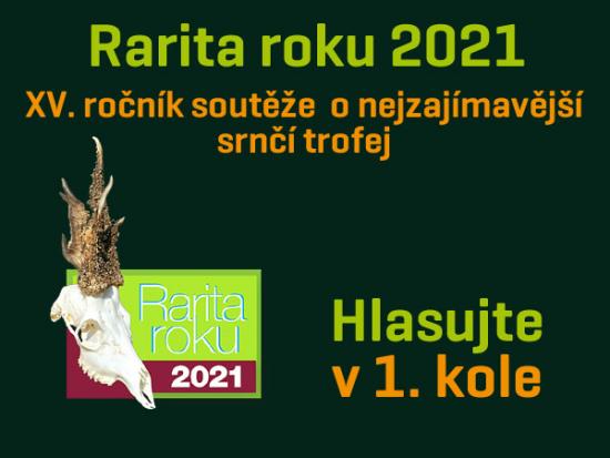 Rarita roku 2021 – I. kolo – Můžete hlasovat!
