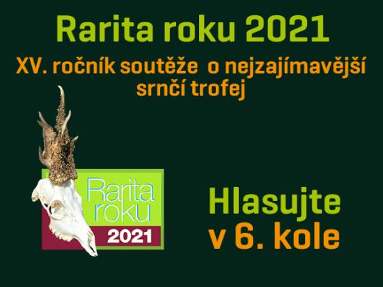 Rarita roku 2021 – VI. kolo – Můžete hlasovat!